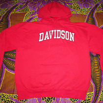 Davidson College Hoodie Pullover by Jansport Size Xl Photo