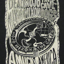 Dead Milkmen / Mojo Nixon / Cavedogs Vintage 1990 Tour Shirt - Grunge Punk Rock Photo