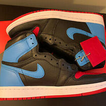 Deadstock Nike Air Jordan 1 High Unc to Chicago Size 9.5 Women Photo