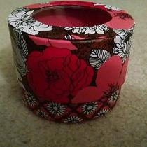 Decorative Round Box With Clear Top in Mocha Rouge Use as Trinket Box Photo