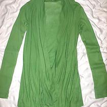 Deep Deep Plunge Splendidchartruese Cotton/modal Louche Top/ Mini Dress S Photo