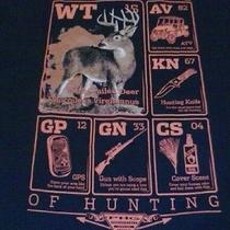 Deer Atv Knife Gun Columbia Sportswear Element Mens T-Shirt Lg Mens Tallnwt 36 Photo