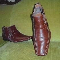 Delli Aldo Mens Brown Boot Shoes Size 13. Photo