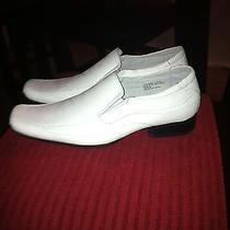 Delli Aldo White Dress Shoe Size 9 Photo
