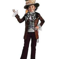 Deluxe Burton Alice in Wonderland Boy's Mad Hatter Disney Costume Photo
