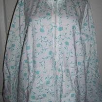 Denim & Co Floral Print Jacket  (L)nwt Photo