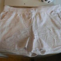 Denim Co White / Pink Lounge Shorts Size 12 Photo