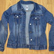 Denim Jean Gap Stretch Jacket Size Large  Photo