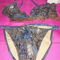 Denim Size 6 Custom Handmade Bikini Photo