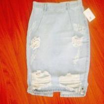 Denim Skirt. Freelove by One Teaspoon Pencil Skirt Photo