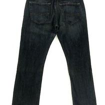 Denizen From Levis 233 Boot Cut Fit Jean Mens 30x30 Dark Wash Blue Denim Stretch Photo