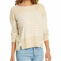 Design History Lace-Up Sweater Women's Brown Xs Photo