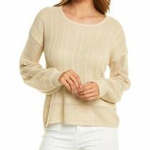 Design History Mesh Sleeve Sweater Women's Brown Xs Photo