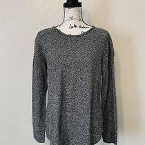 Design History Tunic Sweater Black White Womens Size Large Photo