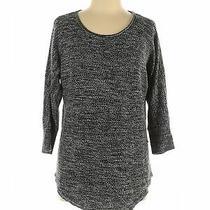 Design History Women Gray Pullover Sweater L Photo