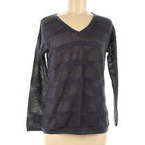 Design History Women Gray Pullover Sweater M Photo