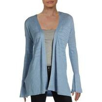 Design History Womens Blue Open Stitch Cardigan Boho Sweater Top M Bhfo 1711 Photo