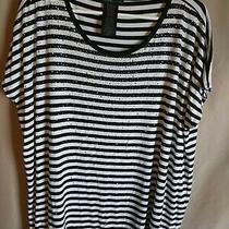 Design History Xl Striped Short Sleeve T-Shirt Photo