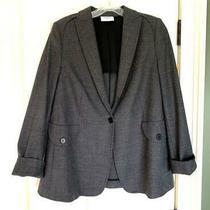 Designer Akris Punto Micro Houndstooth Jacket Blazer  Size 16 Photo