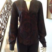Designer Akris Silk Blouse Photo