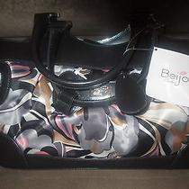 Designer Beijo Charcoal Handbag Photo