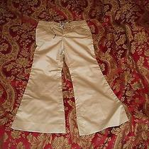 Designer Burberry.  Khaki Girls Pants. Size 5. Photo