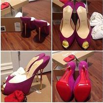 Designer Christian Louboutin Shoes Photo