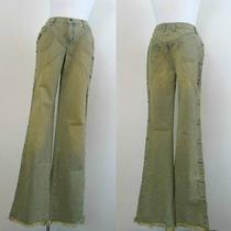 Designer Denim Jeans Flared Boot Cut See by Chloe Size 29 Rare Unique Photo