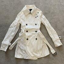 Designer Diesel Coat - Ladies Womens Girls White Lightweight Coat Jacket Photo