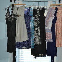 Designer Dress Lot 10 Mixed Styles/brands Euc/nwt Size Xs Anthropologie/taylor & Photo