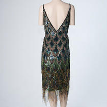 Designer Escada Exotic Flapper Dress Photo
