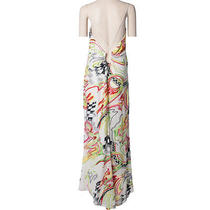 Designer Escada Fun and Flirty Long Dress With Multi-Colored Sequins Photo