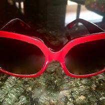 Designer Fendi Sunglasses (Red) Photo