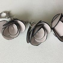 Designer Guess Flawless Grey Silver Purse Charm & Key Chain 3 Charms Nwot  Photo