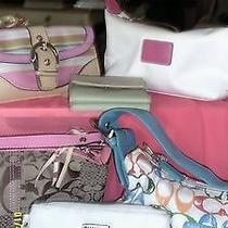 Designer Hand Bag Lot Coach and Others Photo