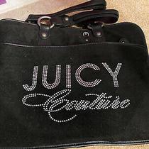 Designer Juicy Couture  Black Stylish Laptop Bag With Rhinestones Photo