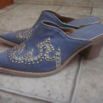 Designer Kathy Van Zeeland Slip on Western Bootie Size 6 Photo