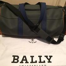 Designer Leather Duffle Bag Photo