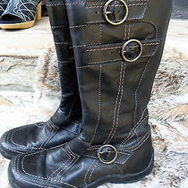 Designer  Luxury High End Aldo Winter Boots Lattitude 38 or 8 Flat Flexible Photo