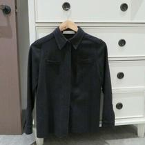 Designer Miu Miu Dark Grey Lady Fine Wool Coat - Made in Italy - Size 40 Photo