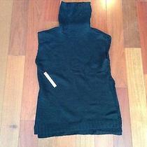 Designer Susana Monaco Black Wool/acrylic Sweater Size Medium. Nwt Photo