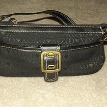 Designer Xoxo Black Purse Photo