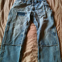 Destroyed Carhartt Feather Grunge Jeans 36x30 Trashed Distressed Ripped     2 Photo