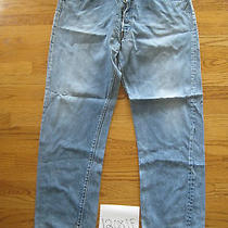 Destroyed Levi Feather 501 Grunge Jean No Tag Meas 39x30.5 12081f Photo
