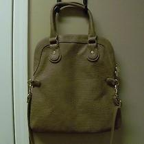 Deux Lux Caramel Purse Bag Tote With Handles & Shoulder Straps Photo