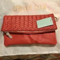 Deux Lux Chain Link/clutch Bag Nwt Cayenne Photo