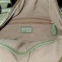 Deux Lux Green Woven Handbag Shoulder Bag Crossbody Tote. Photo