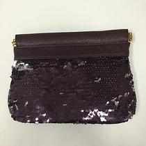 Deux Lux Luna Hinge Clutch Color Grape Photo