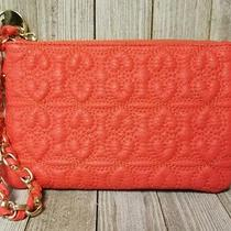 Deux Lux Orange Womens Wristlet Clutch Mini Purse - Bin17 Photo