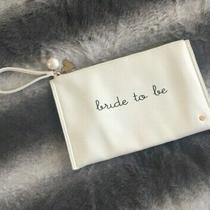 Deux Lux  White Faux-Leather